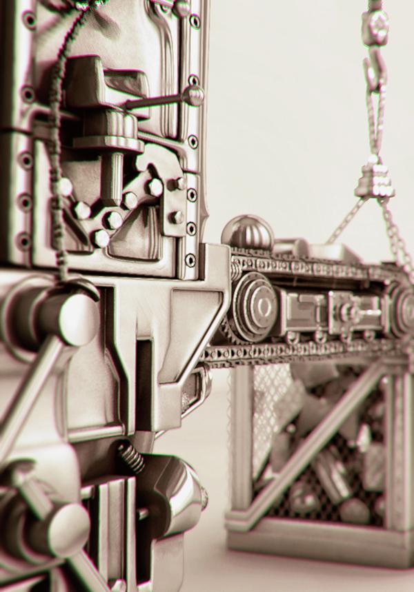 A 3D printing machinery
