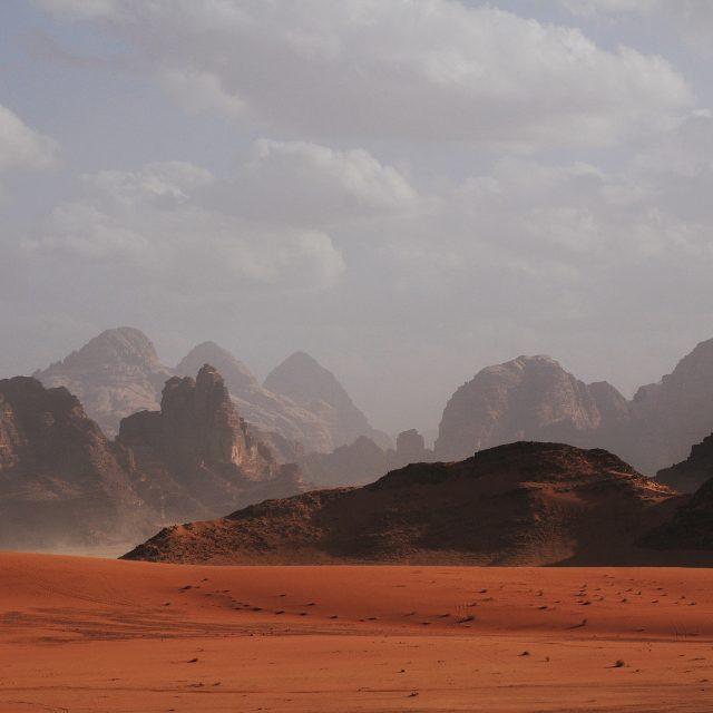 Mars hills